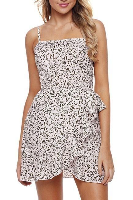 Chic Fashion Ruffle Wrap Hemline Salix Leaf Sundress MB220315-109 –  ChicLike.com caad98f9f