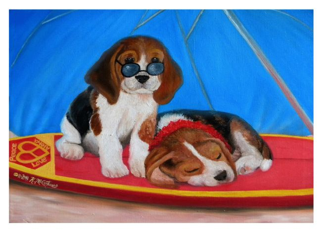 Hawaiian Puppy Love Card Puppy Love Beagle Puppy Love Cards
