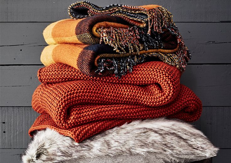 A collection of throws from the Wilderness range