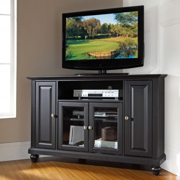 Crosley Cambridge 48″ TV Stand - 20 Cool TV Stand Designs for Your Home