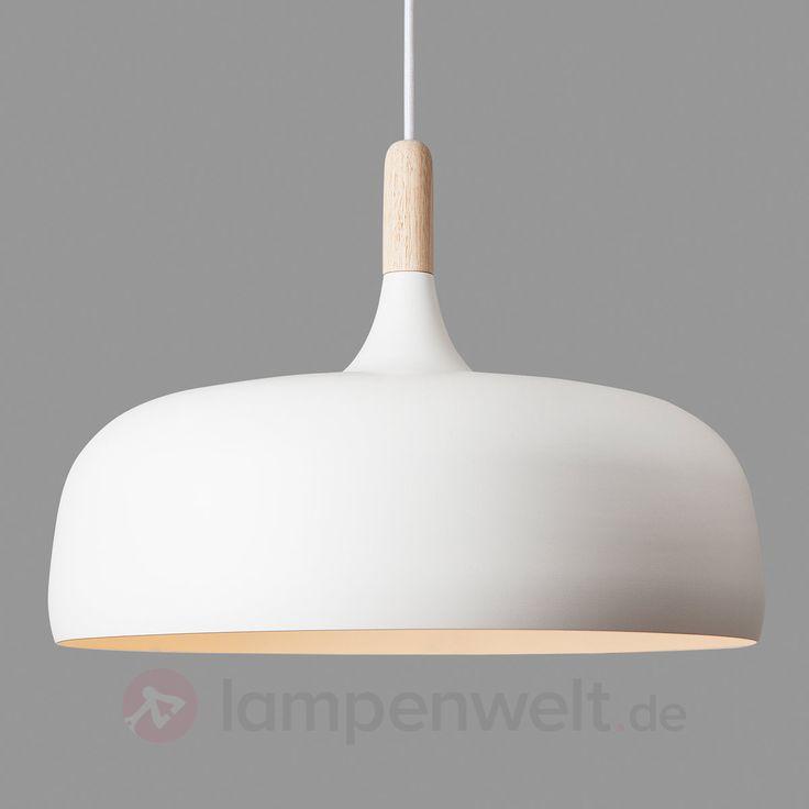 Acorn - Hängeleuchte aus Aluminium, weiß sicher & bequem online bestellen bei Lampenwelt.de.