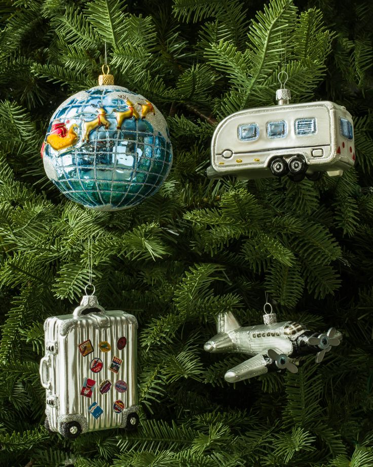 European Travel Ornament Travel ornament, Christmas
