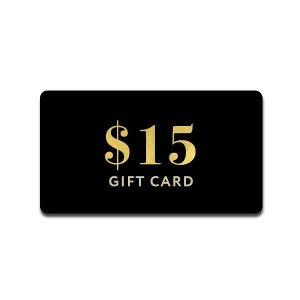 $15 Electronic Gift Card