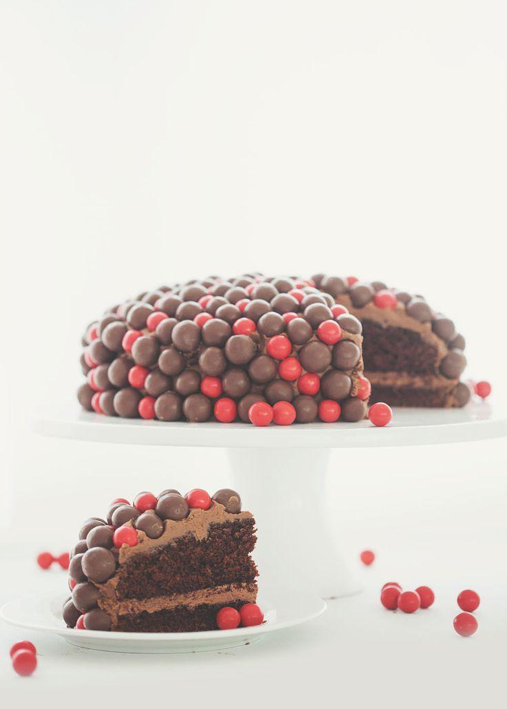 Maltesers & Jaffas Cake