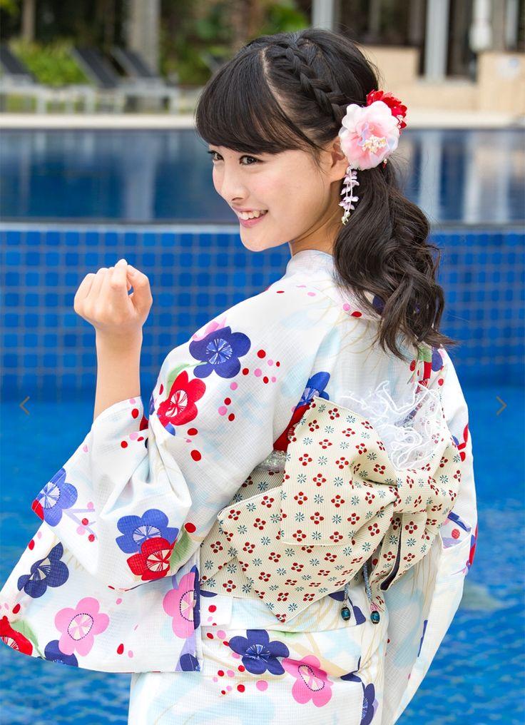 #yukata #大友花恋 #浴衣屋さん.com