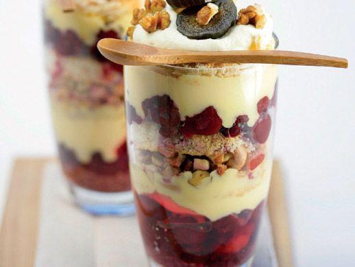 Uit die Huisgenoot kombuis: Trifle in glasies