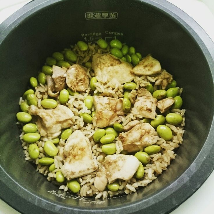 Japanese one pot dark beer chicken rice