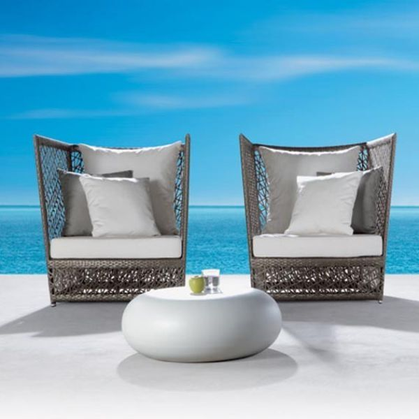 Lovely Blending The Casual Look Of Rattan With Clean Lines And Contemporary Form,  This Luxury Outdoor Seating Collection By Expormim Makes Your Yard A Modern  Outd