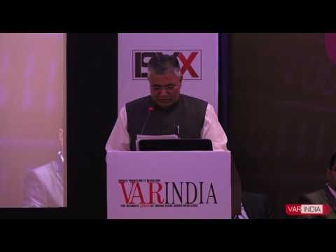 Shri  P P  Chaudhary, MoS for Electronics & IT, Law & Justice, Govt of I...