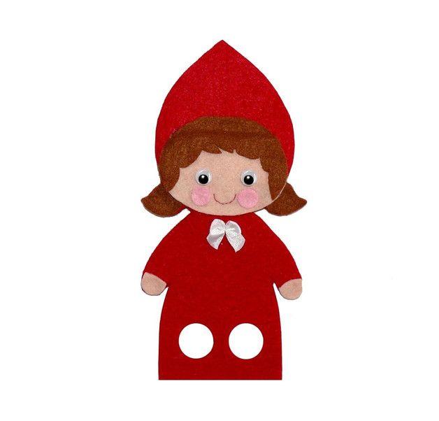 deliziosa marionetta in feltro e pannolenci per raccontare la favola di Cappuccetto Rosso ai tuoi bimbi con un tocco in più! Grazie al set completo vi divertirete a ricreare la storia con l'aiuto...