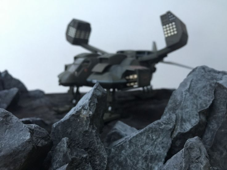 Aliens dropship