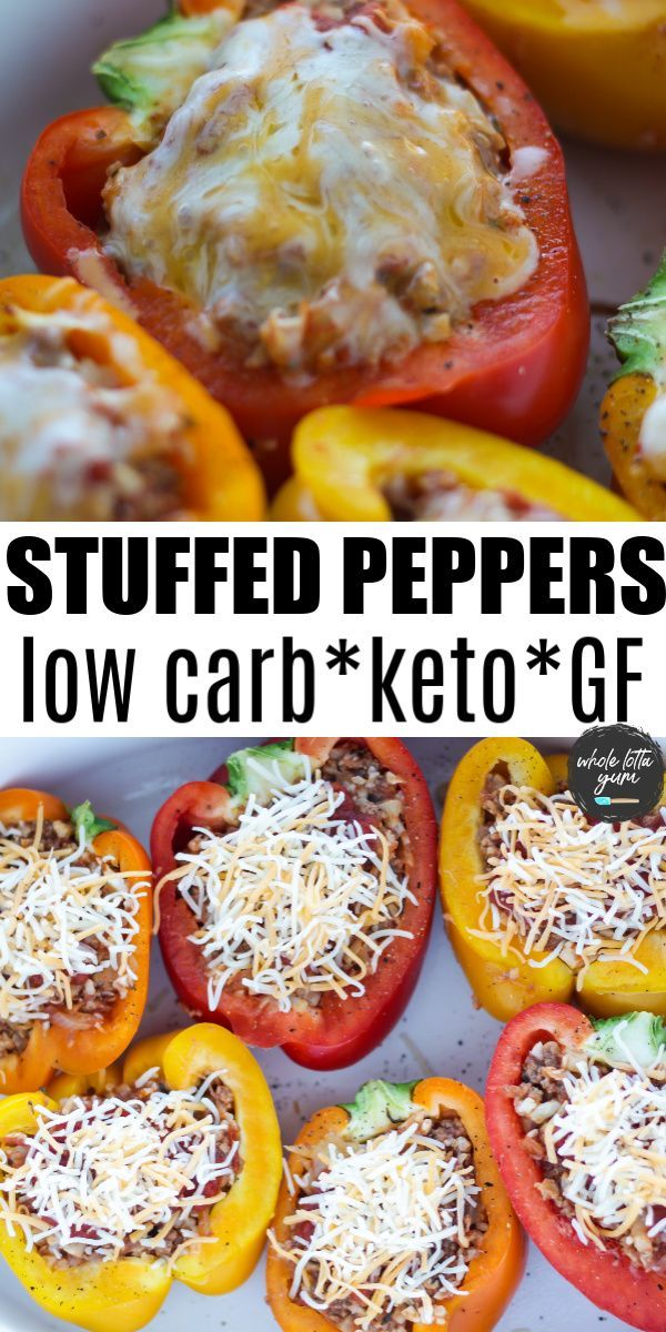 Healthy Stuffed Peppers No Rice In 2020 Keto Recipes Dinner Keto Stuffed Peppers Low Carb Vegetables