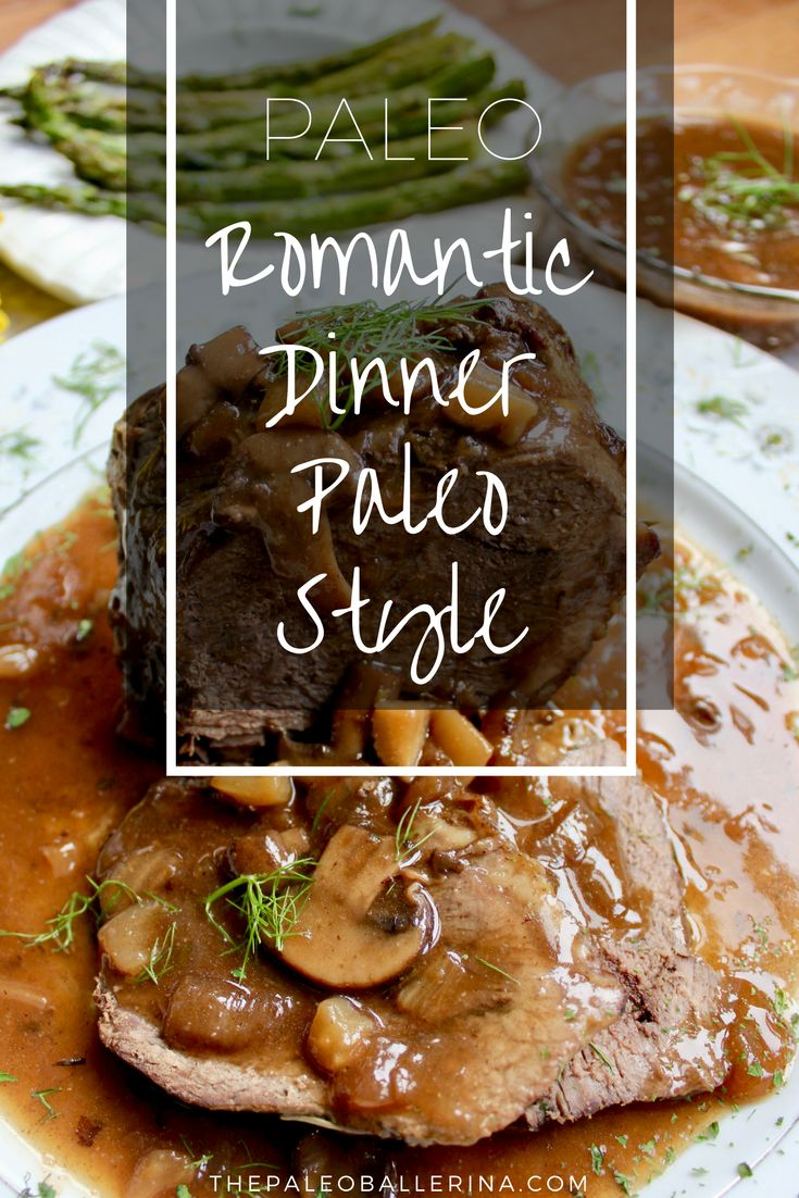 Paleo valentine s day meal ideas - Romantic Dinner Paleo Style Clear Skin Dietvalentines Day