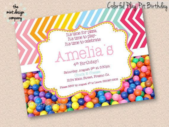 101 best pretty parties images on pinterest | birthday party, Birthday invitations