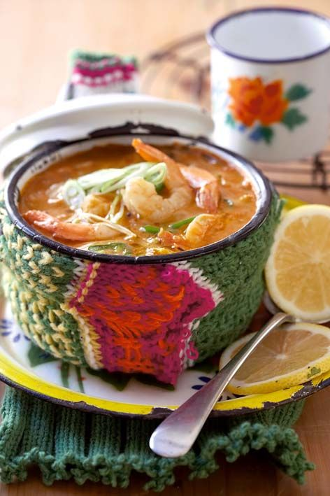 Thai Red Curry Soup | Thai Recipes | Pinterest