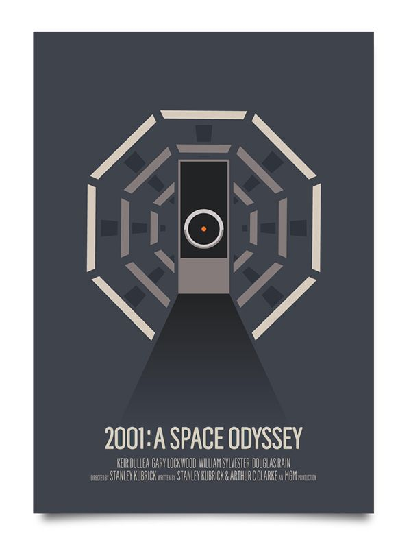 Movie Objects : Poster Series on Behance