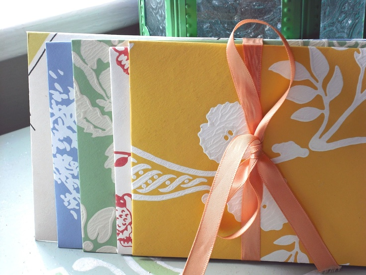 Pretty handmade envelopes