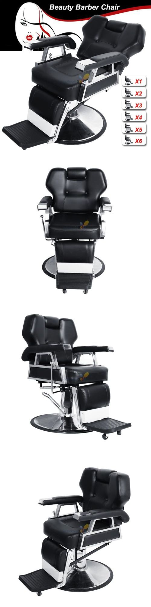 Stylist Stations And Furniture: New All Purpose Hydraulic Recline Barber  Chair Beauty Salon Spa Equipment
