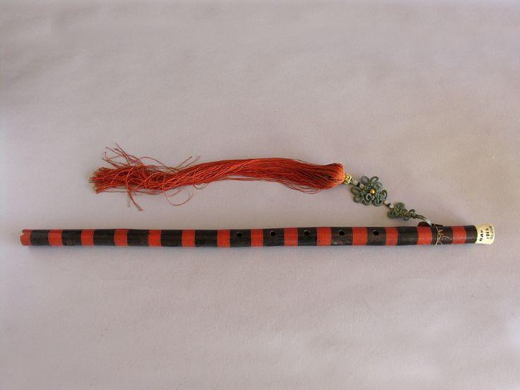 Ti-Tse, flauta travesera de origen chino. #Música #Instrumentos #MNAD