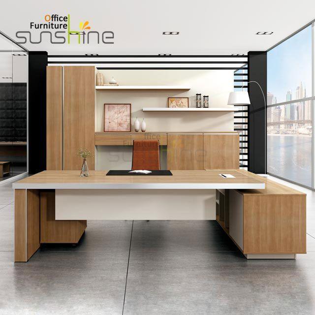 13 Unique Office Boss Table Design Boss Design Moderncorporateofficedesigndesks Offic Office Table Design Corporate Office Design Office Furniture Design