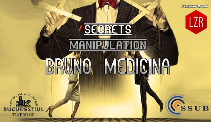 In this #workshop we'll explore some of the most diabolical and controversial systems used by the #manipulators to control our behavior, some methods to defend ourselves and – why not – how to use the same power against them.  I'm inviting you to a fascinating and life changing journey into the mysteries of the #human #psyche.  #aboutmanipulation #manipulation