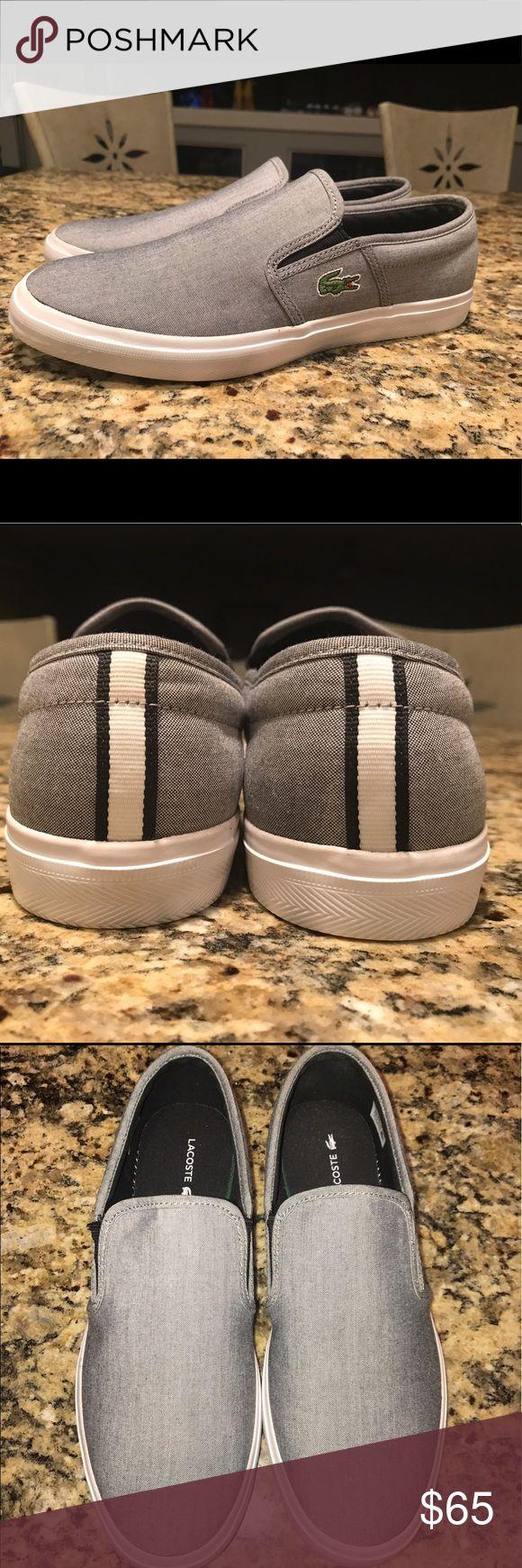 Lacoste Men's Slip-On Comfy men slip-on. Used light. Lacoste Shoes Loafers & Slip-Ons