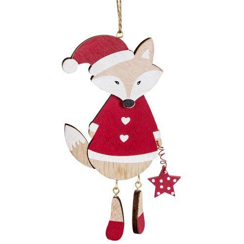 Suspension renard rouge