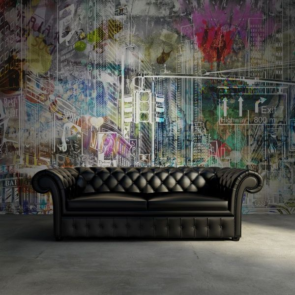 Hey, look at this wallpaper from Rebel Walls, Cartoon City, graffiti! #rebelwalls #wallpaper #wallmurals