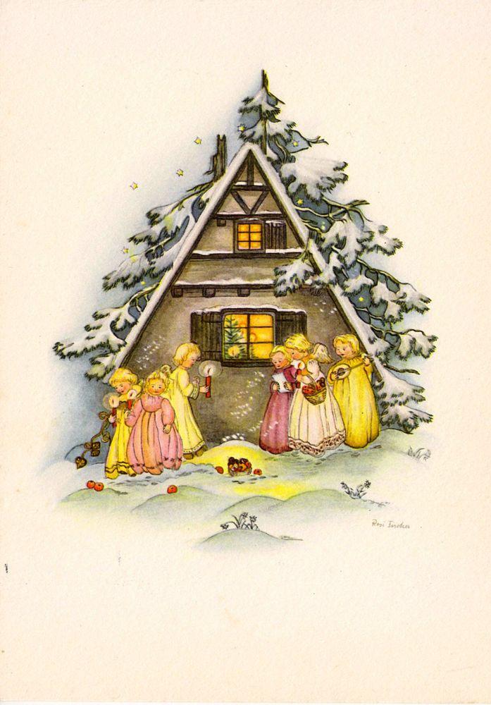 433 best karten weihnachten retro images on pinterest. Black Bedroom Furniture Sets. Home Design Ideas