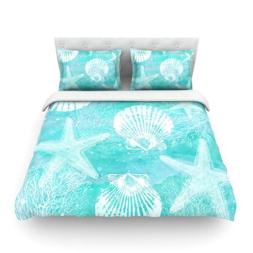 Found it at Wayfair - Seaside by Sylvia Cook Featherweight Duvet Cover