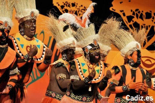 Resultado de imagen de disfraz tribu africana