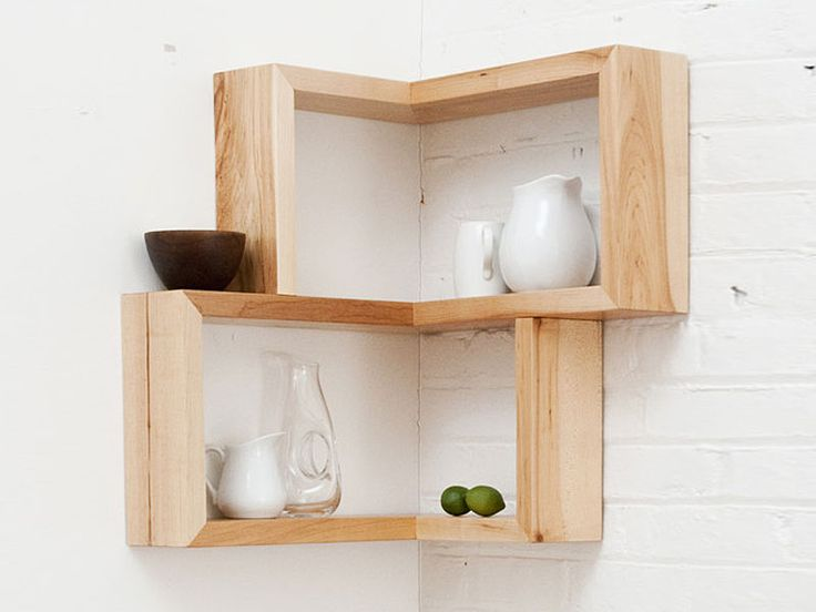 10 Floating Shelves to Create Contemporary Wall Displays - http://freshome.com/floating-shelves/