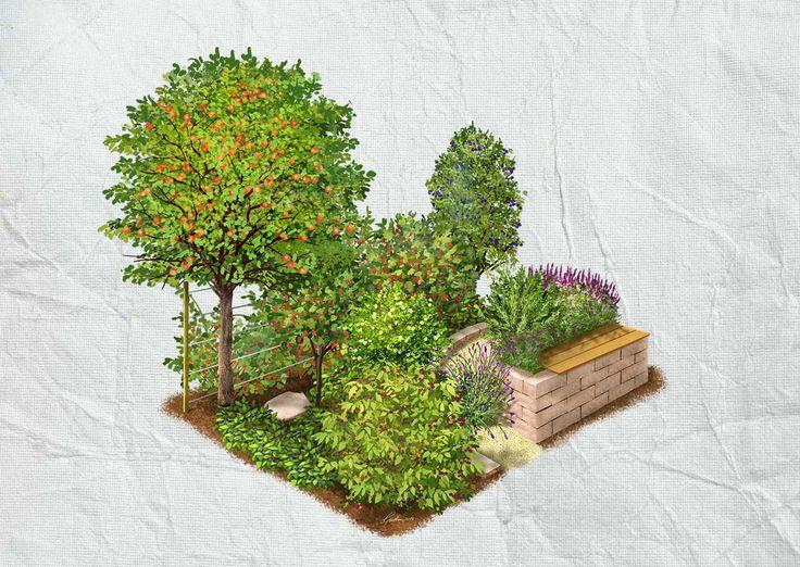 Die besten 25+ Gartengestaltung kosten Ideen auf Pinterest - mediterraner garten kosten