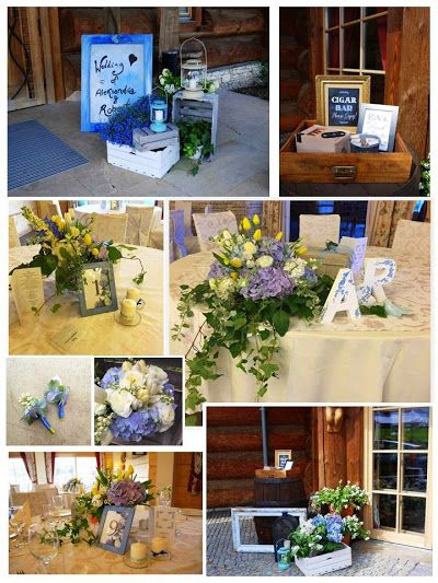#blue #wedding #hortensia #hydrangea