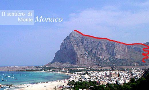 Sentiero Monte Monaco