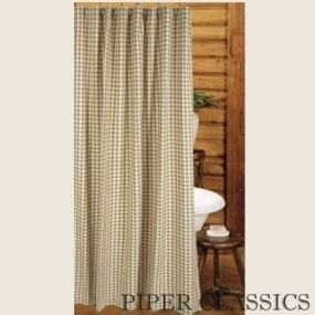 Heritage House Oat Shower Curtain