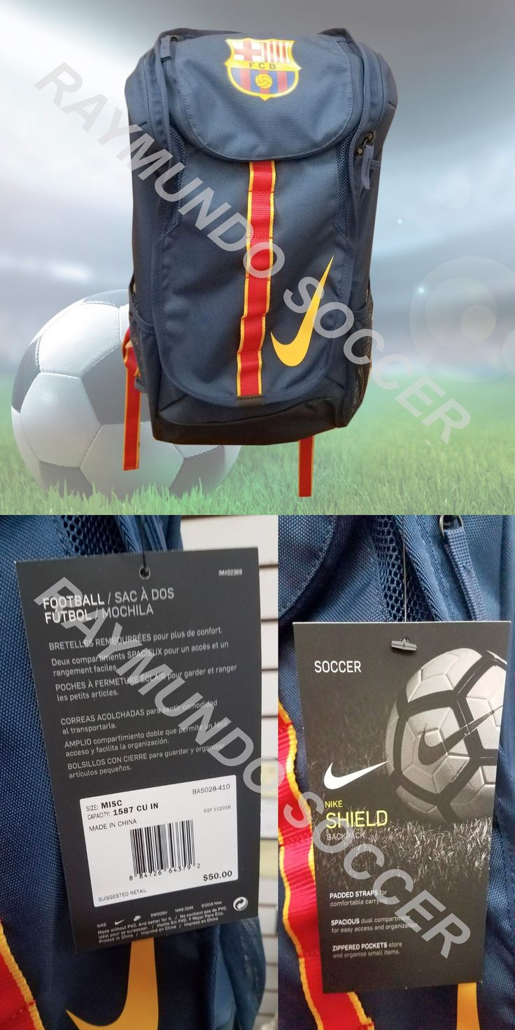 Soccer-Other 2885: Nike Fc Barcelona Allegiance Shield Compact Soccer Backpack -> BUY IT NOW ONLY: $45 on eBay!