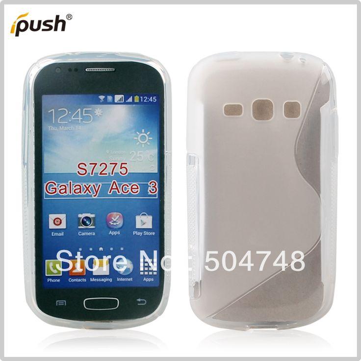 150 pcs/lot прочный тпу чехол для Samsung Galaxy Ace 3 S7272