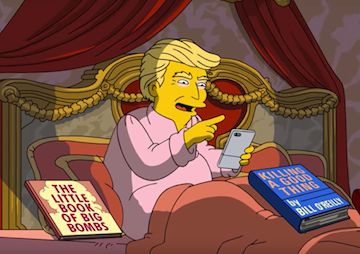 'The Simpsons' Takes on Trump's First 100 Days (Video) | The acclaimed animated series lays into the Trump administration in a teaser for Sunday's upcoming episode. | 2017-04-27 |