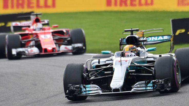 Großer Preis von Belgien - Hamilton siegt die WM wieder eng