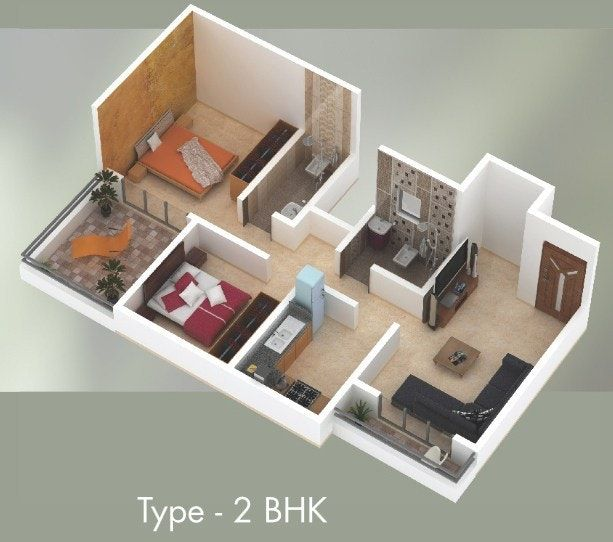 Small 2 Bedroom House Plans Indian Style Novocom Top