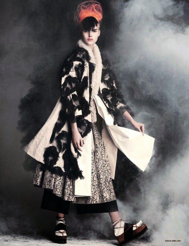 Vanessa Moody by Luigi + Iango for Vogue Germany April 2015
