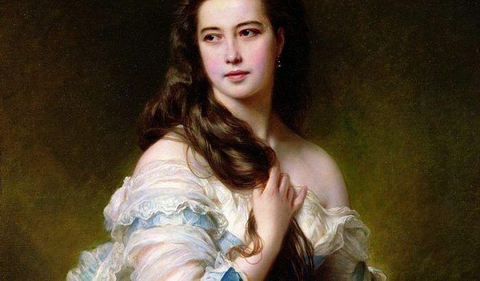 Живопись: Нескромная красавица с портрета: как русская Венера покорила Париж и затмила французскую императрицу | Kleinburd News