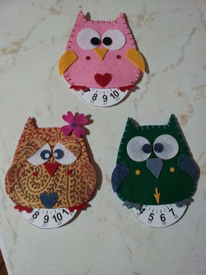 Owl gufo disco orario