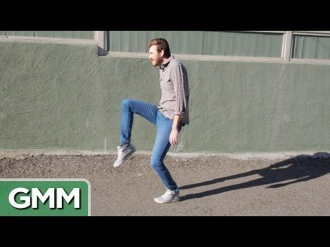 "These guys...  ""The Safest Way to Walk"" (to not get mugged) - Good Mythical Morning (Rhett and Link)"
