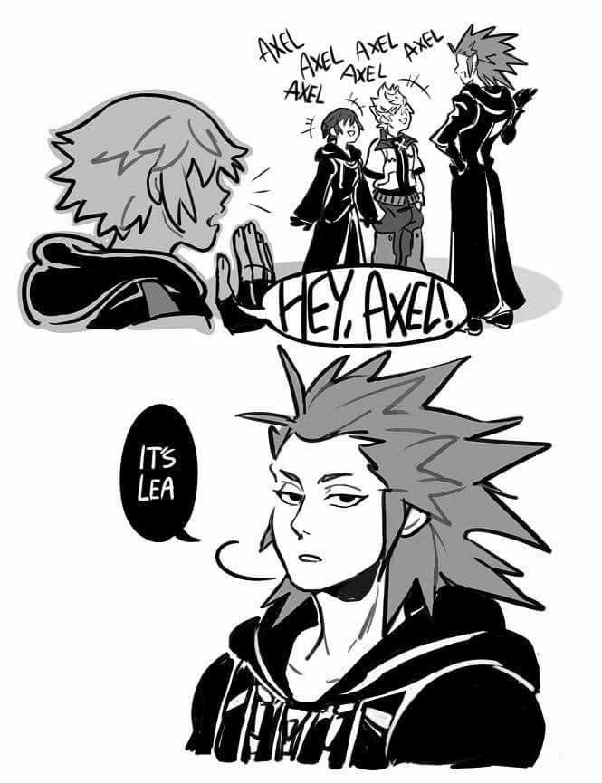 Only my friends call me Axel   Kingdom Hearts   Pinterest   Kingdom ...