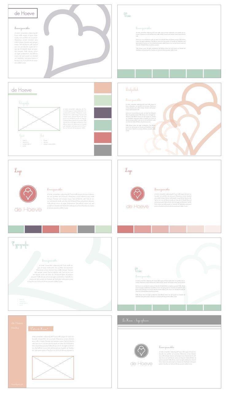 Schetsen digitaal - pagina ontwerp