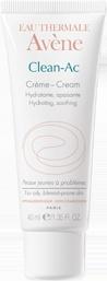 Clean-Ac Crema idratante lenitiva   Avene <3