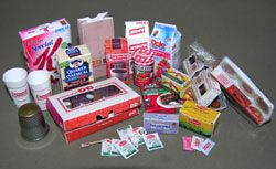 Paper Minis: Miniature Books, Doll and Dollhouse Accessories Available in Multiple Scale, Do-it-yourself DIY Pre-printed Kits Home Page and Site Map