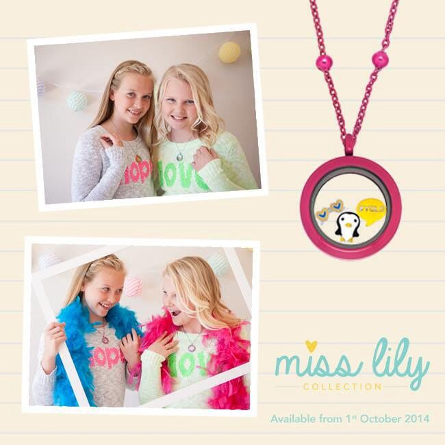 Children's lockets! 'Miss Lily' New to Lily Anne Design gorgeous range! <3